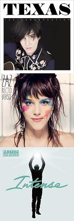 Рецензии на альбомы Texas / Zaz / Armin Van Buuren