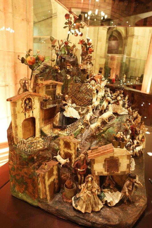 Christmas ceramic miniature