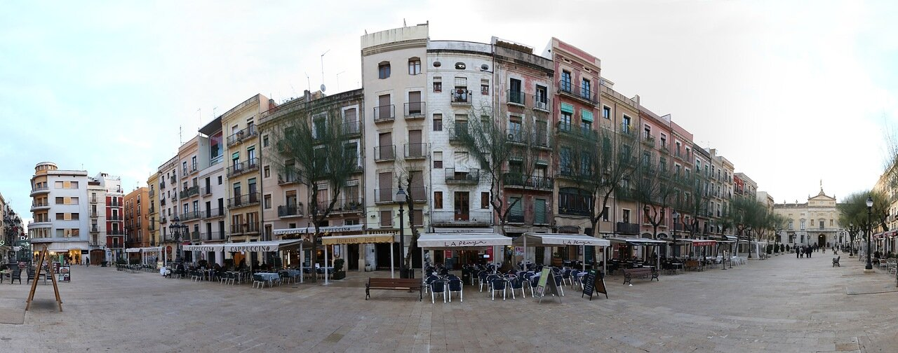 Таррагона. Пласа Де ла Фонт. Tarragona, Placa De la Font