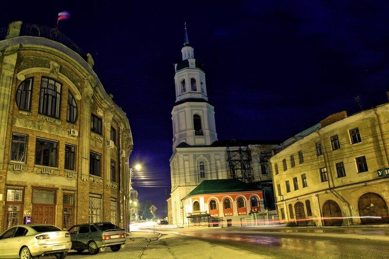 Спасский собор ночью IMG_7716_hdr