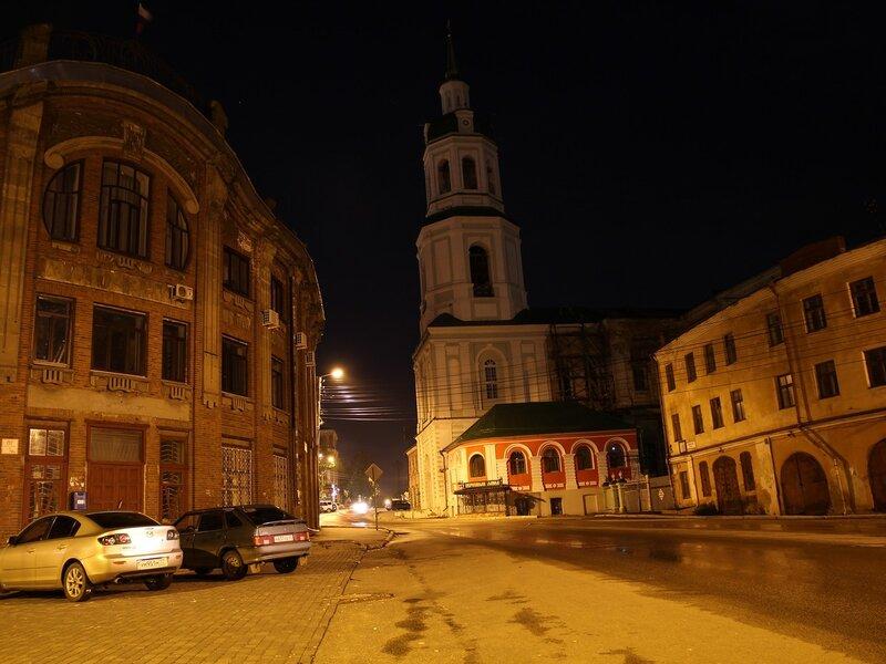 Училище искусттв (бывший магазин Клабукова), колокольня Спасского собора и торговые ряды IMG_7722