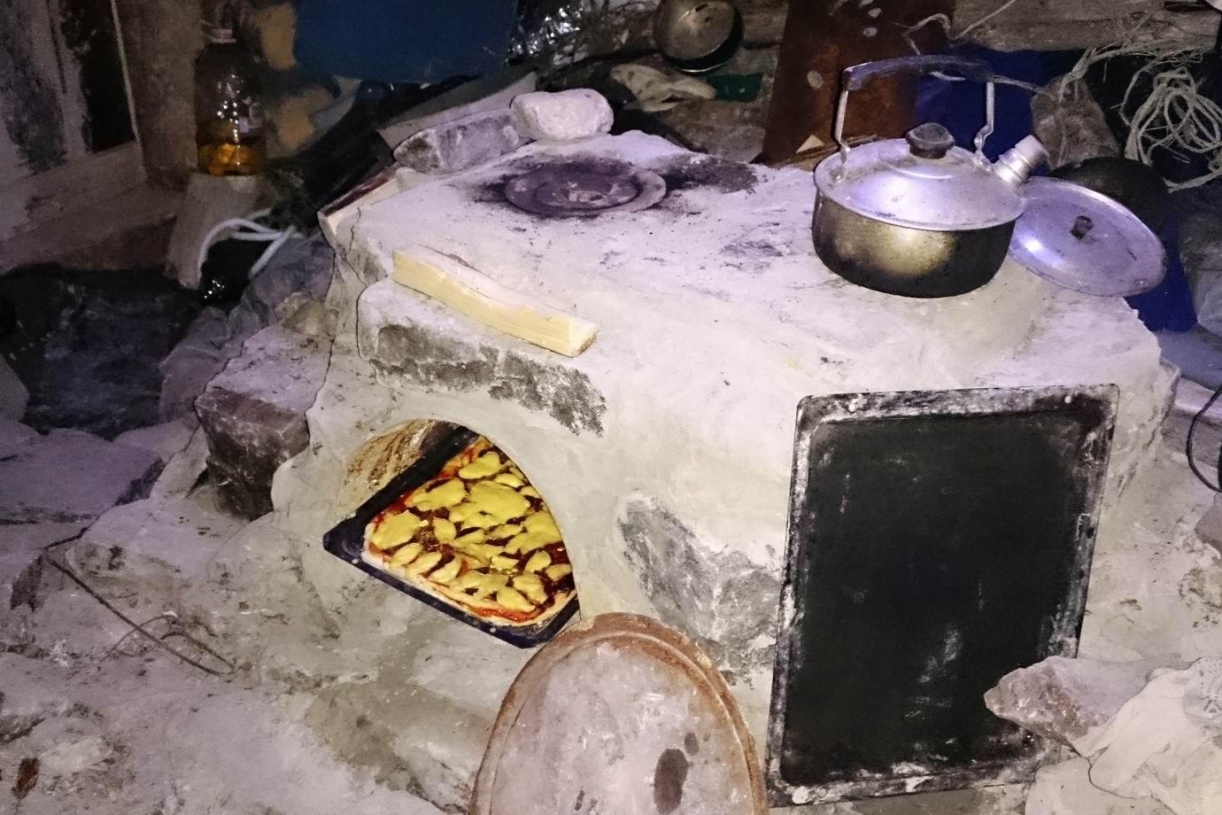 Первый тест духовки