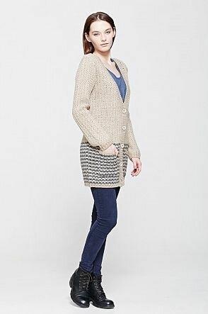 Кардиганы женские: стильно, всегда модно, практично