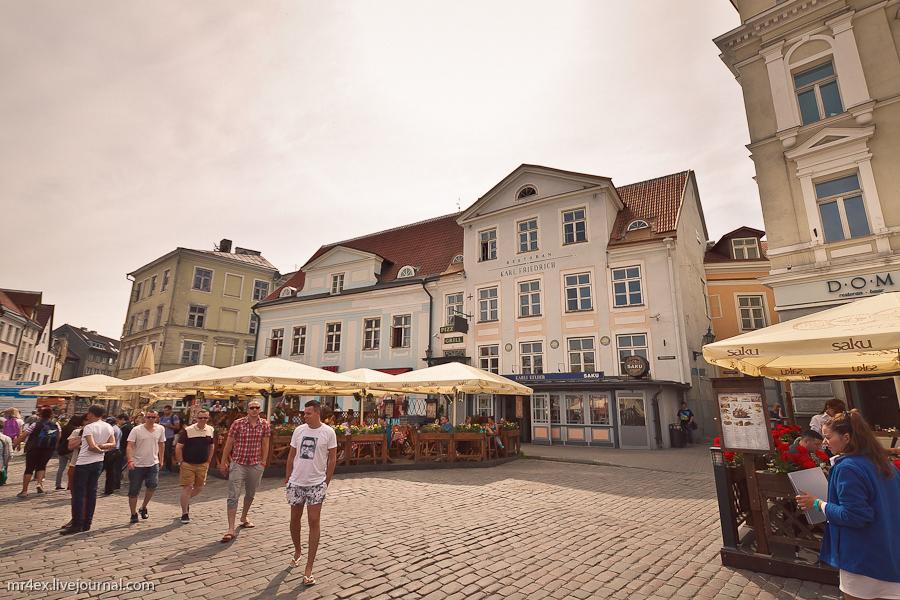 Таллин, Эстония, Старый город, Ратушная площадь
