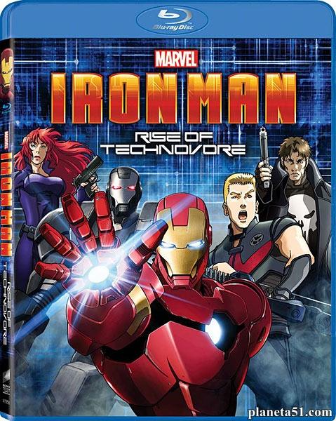 Железный Человек: Восстание Техновора / Iron Man: Rise of Technovore (2013/HDRip)