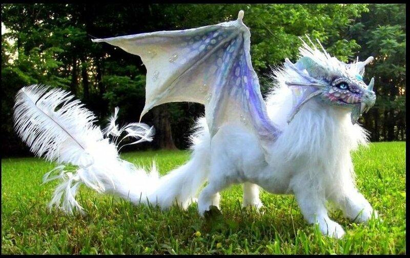 приготовления белый дракон из сказки фото такой
