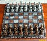 На полях черно-белых, о шахматах