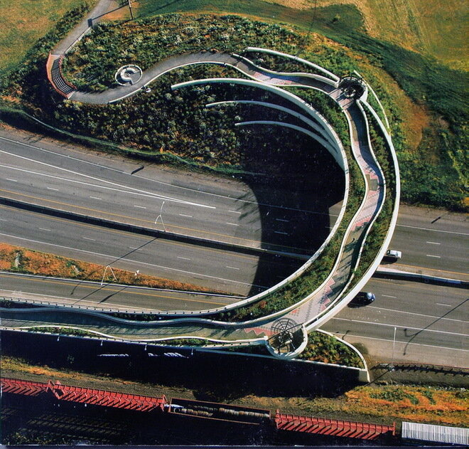 Ванкуверский надземный мост (Vancouver Land Bridge). Канада
