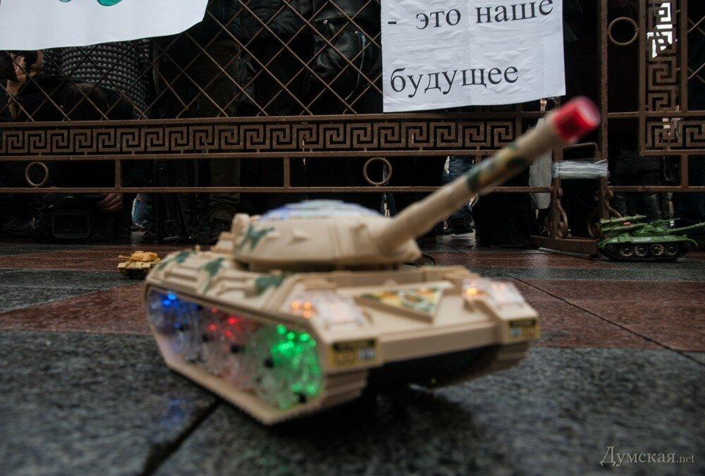 Танки штурмуют Одесскую городскую администрацию