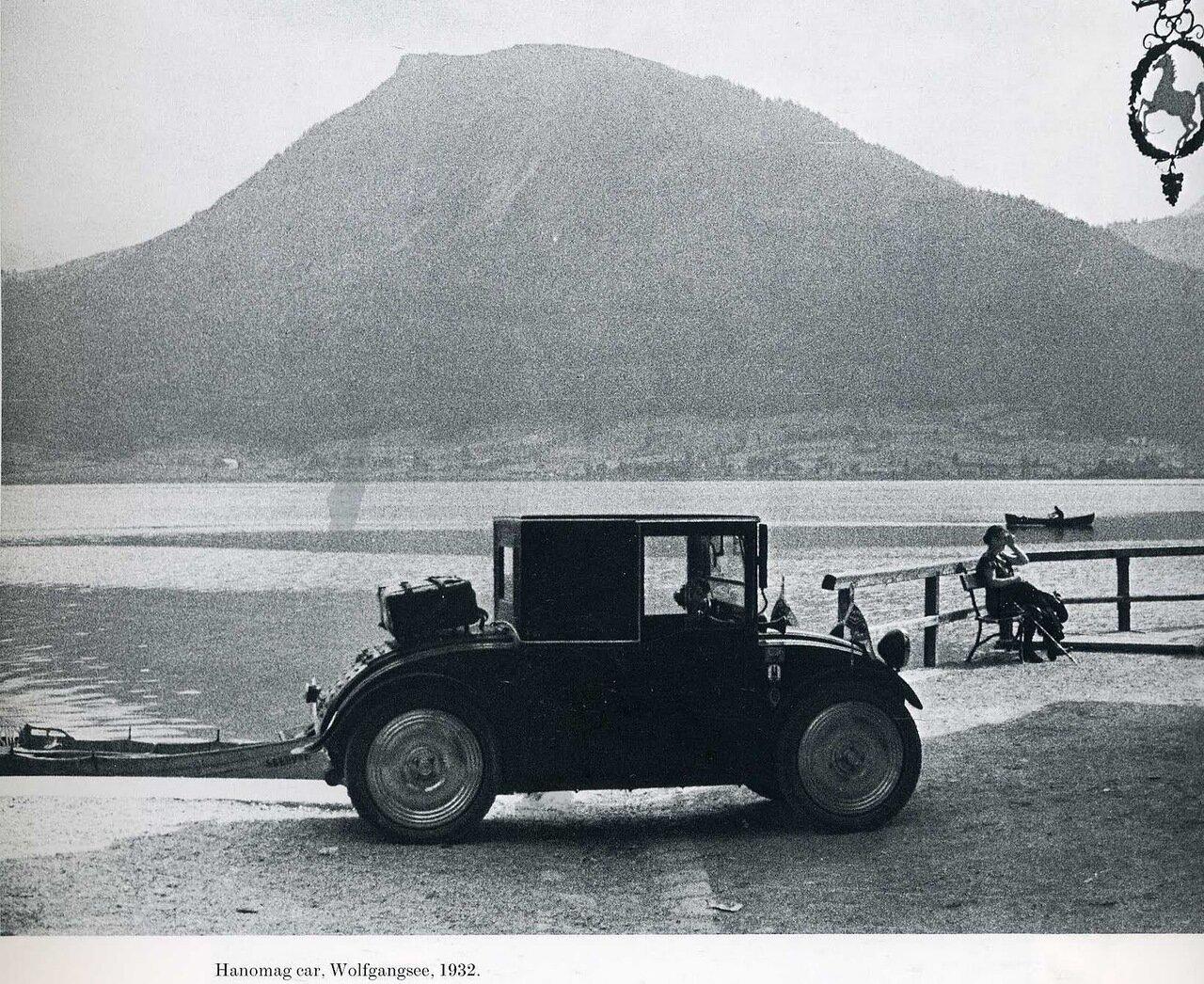 1932. Автомобиль «Ханомаг». Вольфгангзе, Австрия