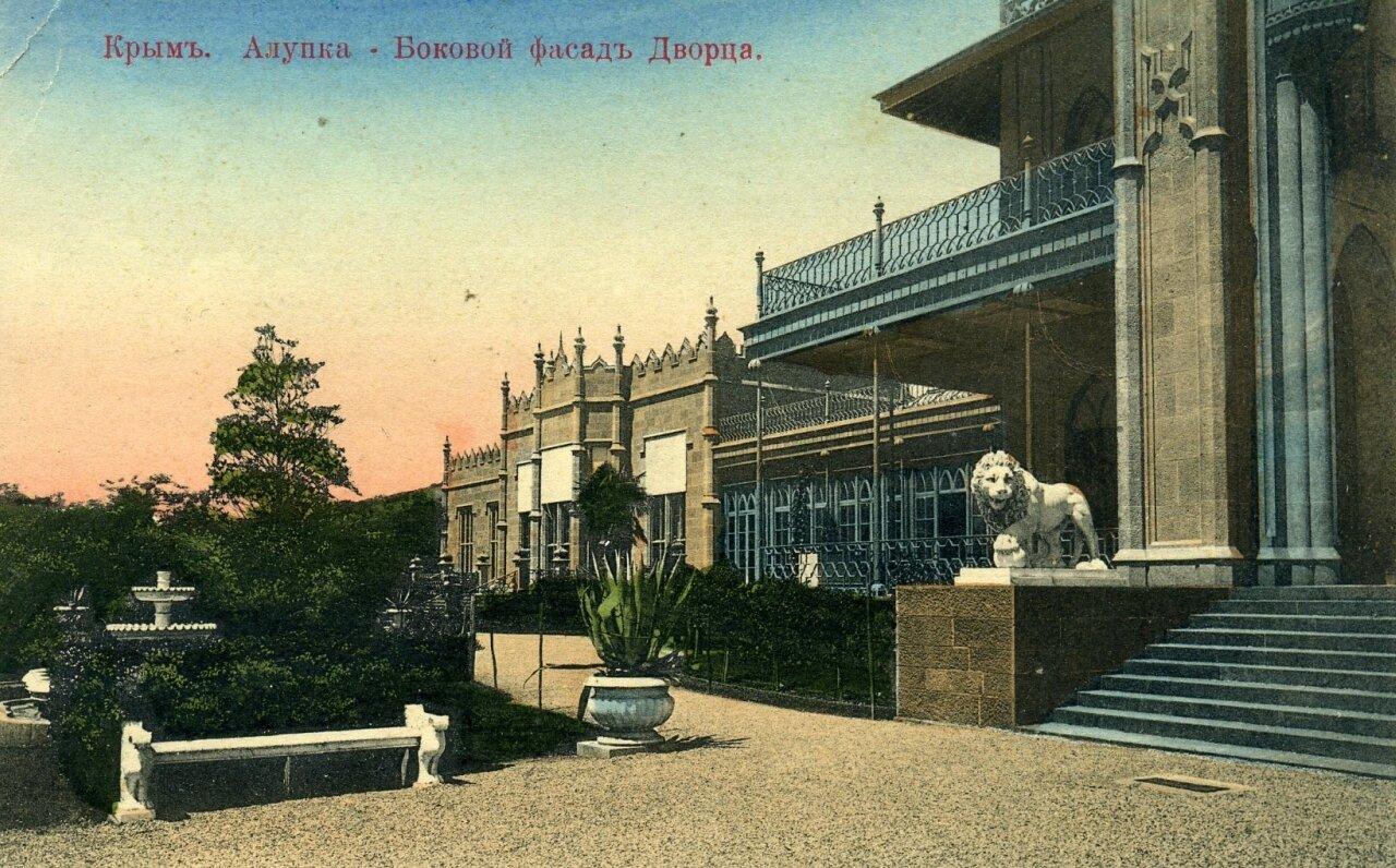 Дворец графа М.С.Воронцова. Боковой фасад