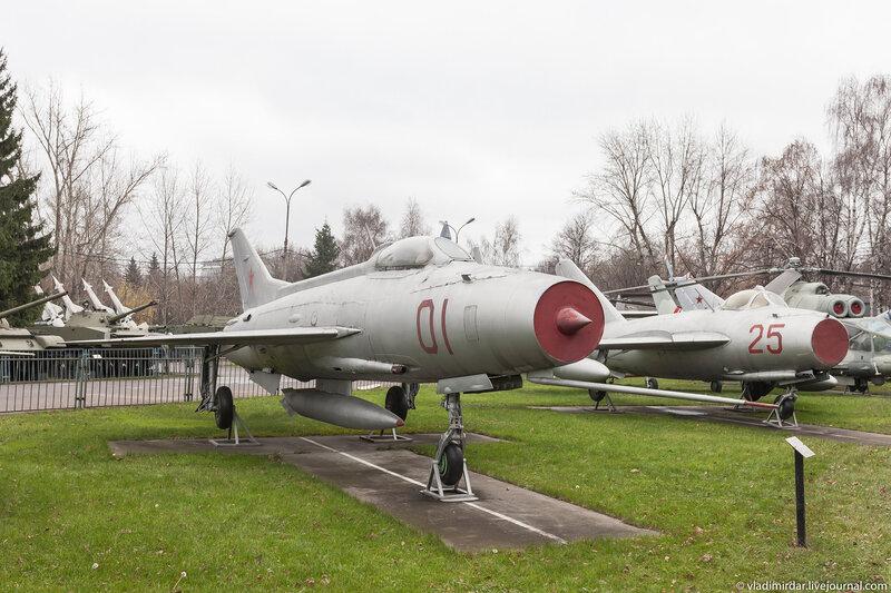 Фронтовой истребитель МИГ-21Ф-13