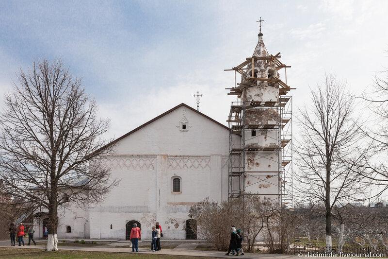 Зачатьевская церковь Свято-Покровского монастыря Суздаля
