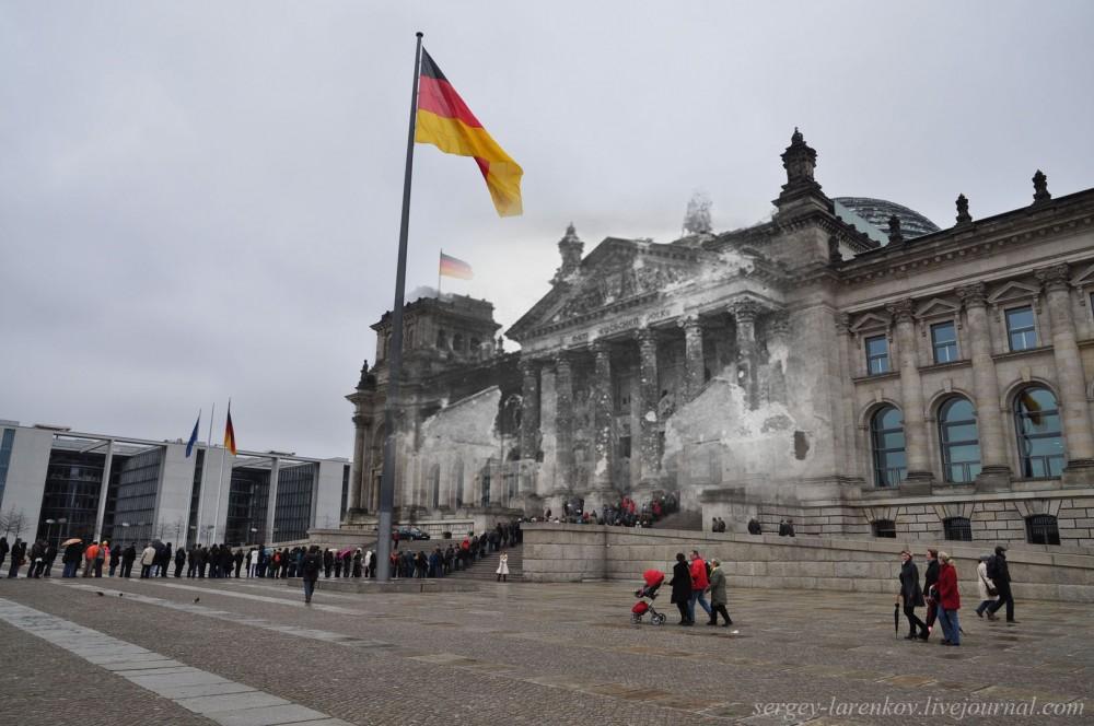 14 Берлин 1945-2010. У Рейхстага..jpg