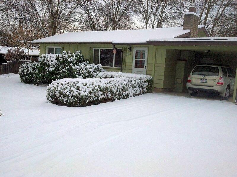 Медфорд в снегу