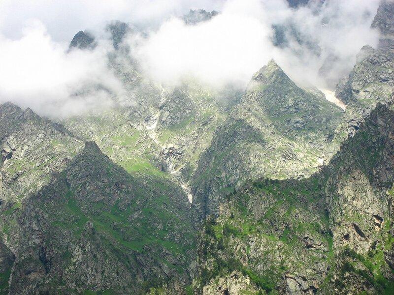 Северная Осетия, Цей, Цейское ущелье