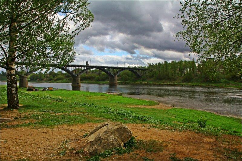 Волга в Старице