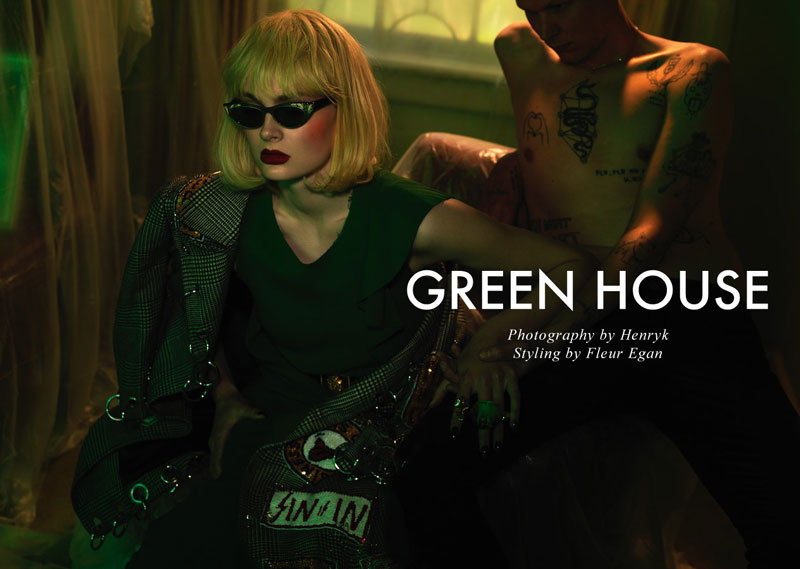 Julia S by Henryk in 'Green House'