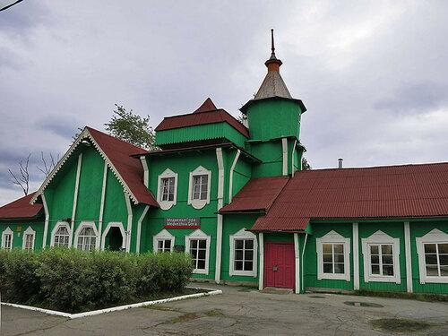 Здание вокзала Медвежьегорска