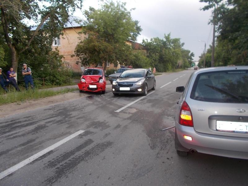 Автоледи на буксируемом Matiz устроила ДТП пострадали три женщины