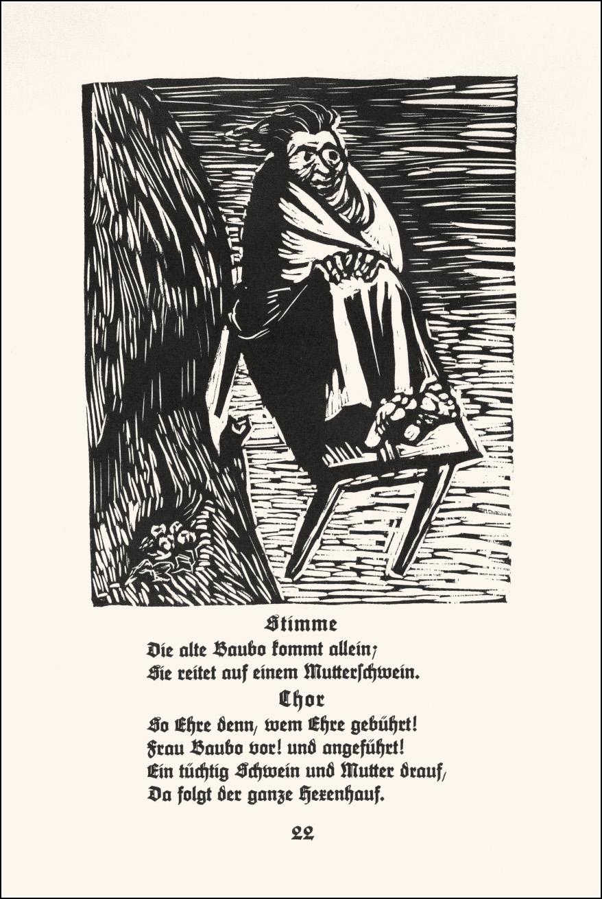 Walpurgisnacht, Ernst Barlach