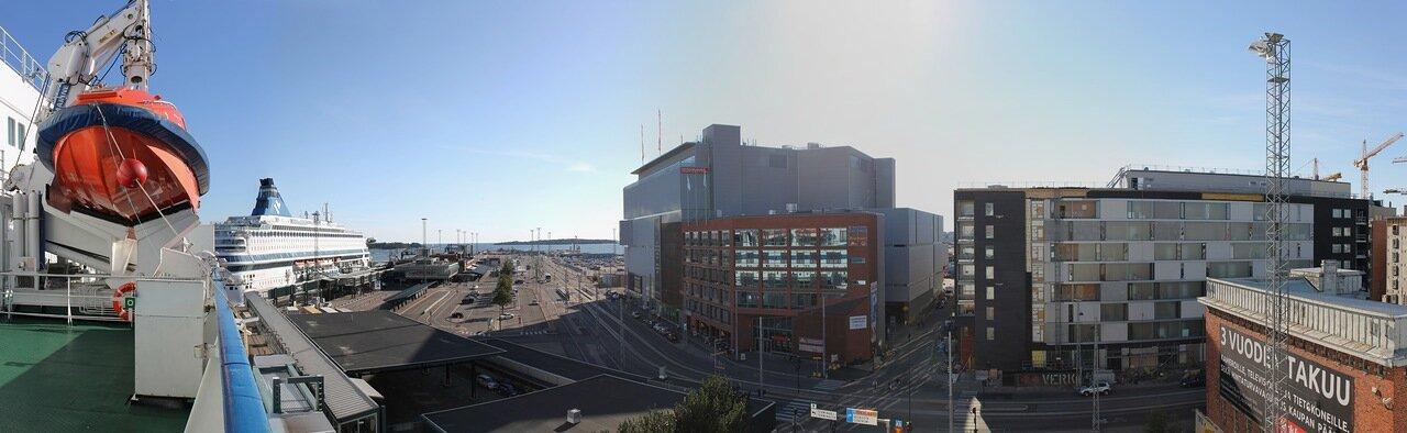 Западный паромный терминал Хельсинки. Heksinki, Länsiterminaali