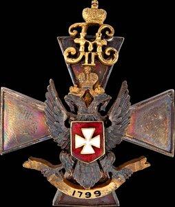 Знак Лейб-гвардии 3-го стрелкового Его Величества полка.