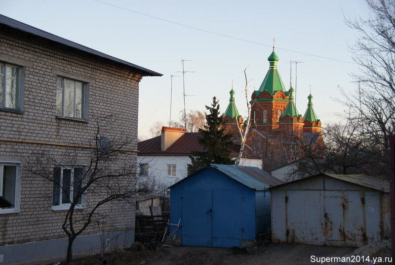 Задонск - Храм Троицы Живоначальной