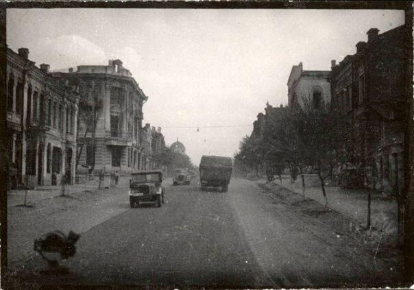 Гомель, военные годы в Гомеле, старое фото, улица Советская