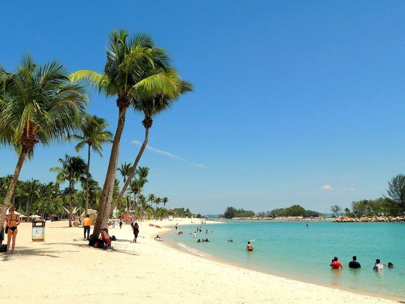 Пляж Сентозы
