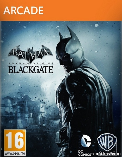 Batman: Arkham Origins Blackgate - Deluxe Edition (2014/RUS/ENG/MULTI6/Full/Repack)