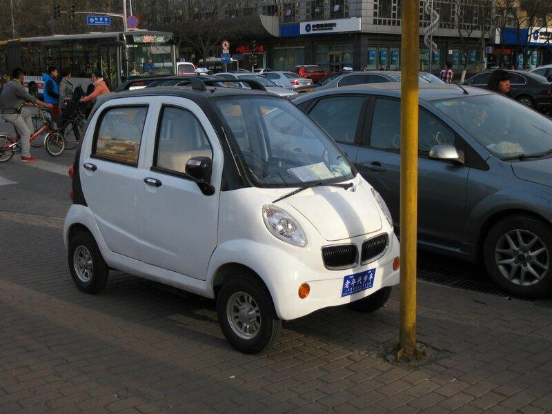 Маленькая машина, Пекин