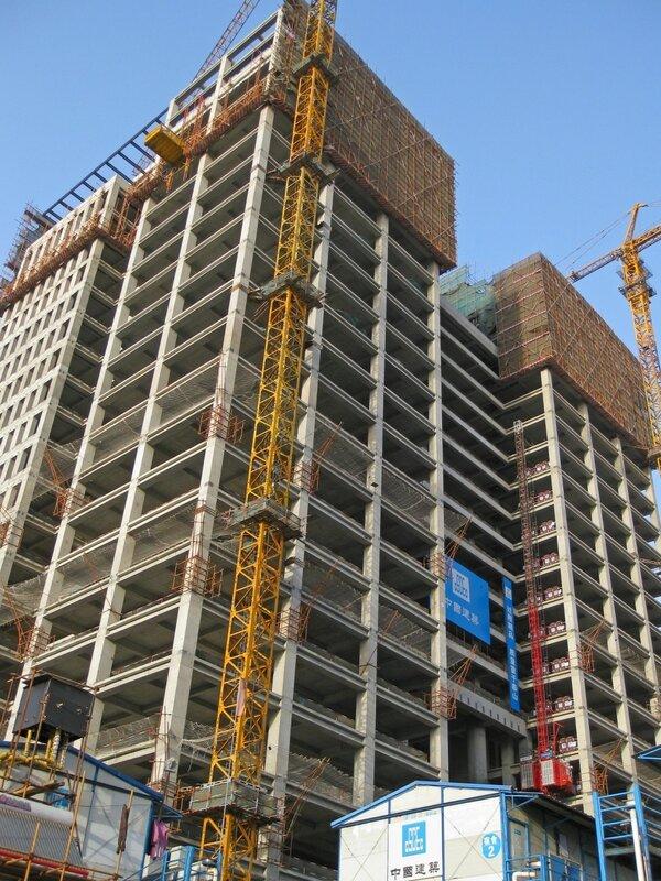 Строительство, Пекин