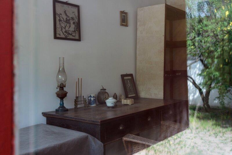 Письменный стол Лу Синя, музей Лу Синя, Пекин
