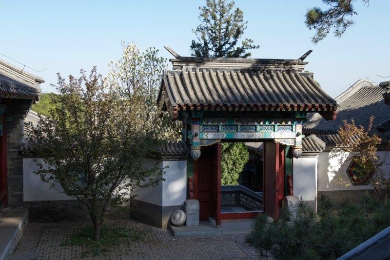 Ворота, парк Сяншань, Пекин