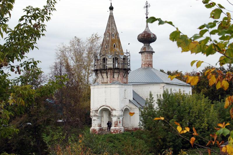 Смотровые площадки Золотого Кольца 08 - Суздаль - Кремлевские валы