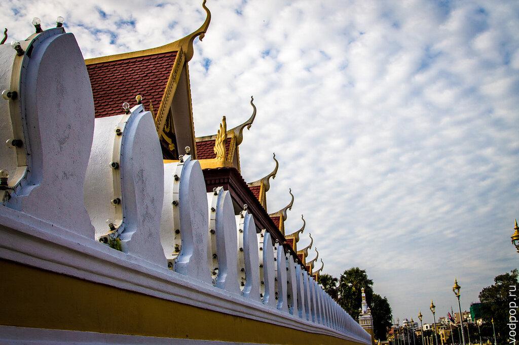 Королевский дворец в Пномпене.