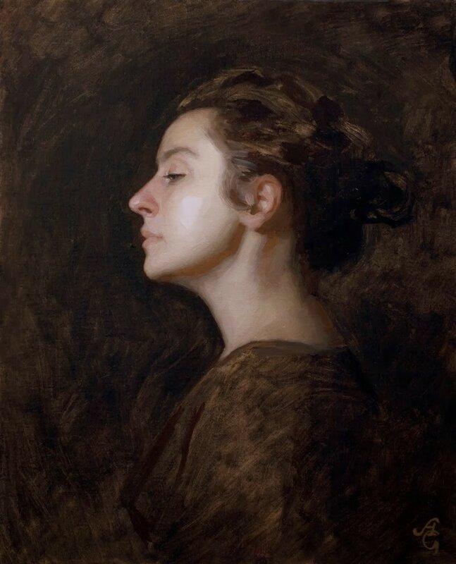 Американский художник Адриан Готлиб (Adrian Gottlieb)
