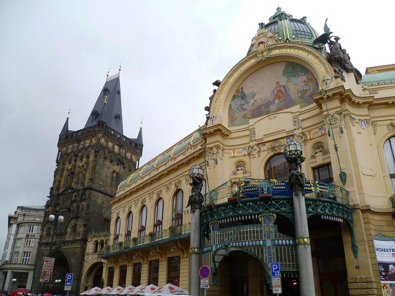 Муниципальный дом в Праге, Чехия (Municipal House in Prague, Czech Republic)