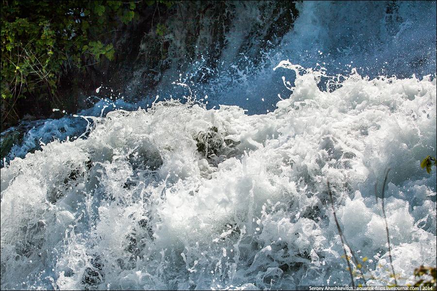 Водопады КРКА