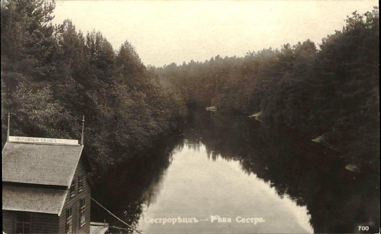 Река Сестра (Живорыбный садок)