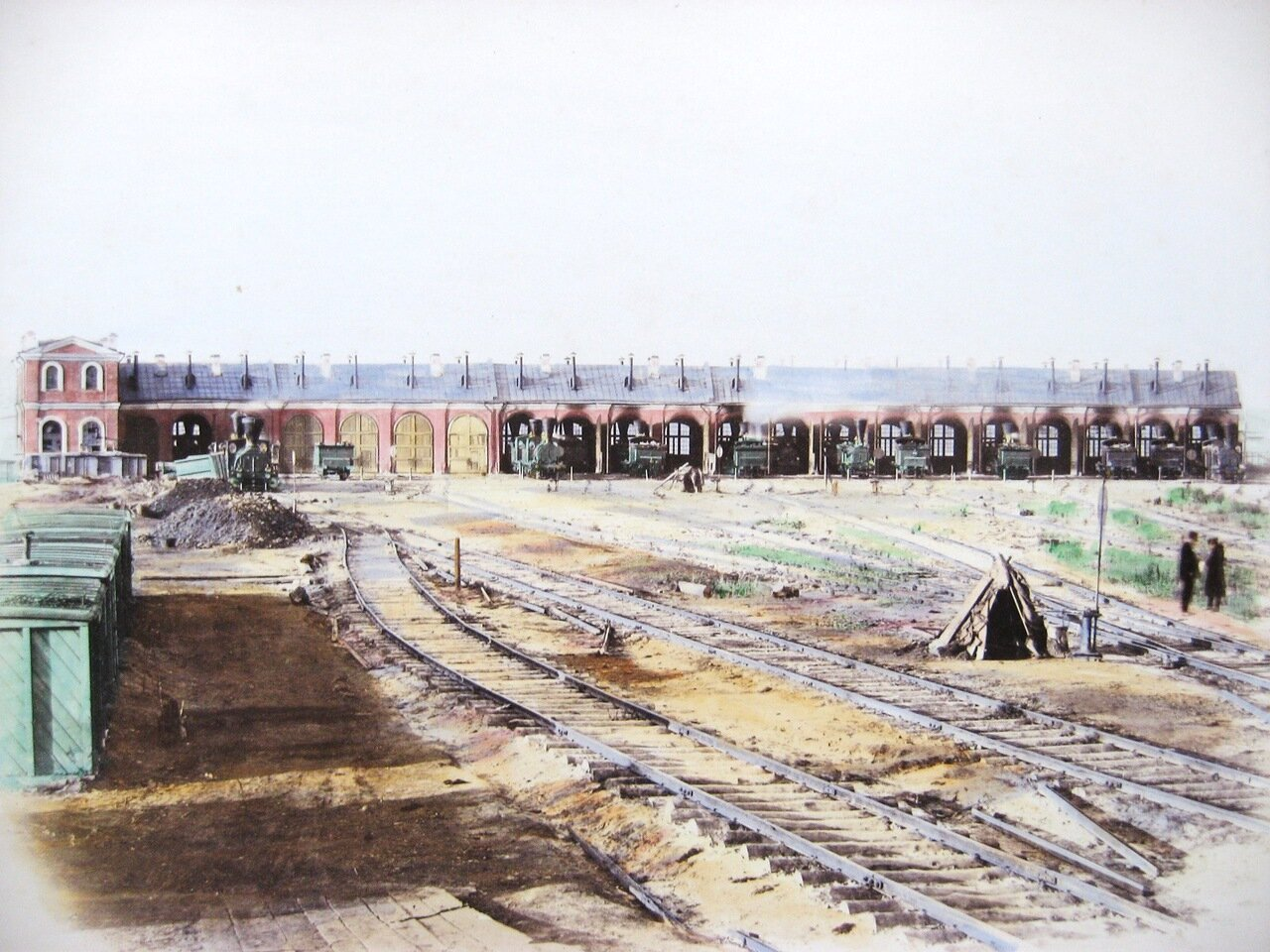 17. Паровозное депо на станции Тула