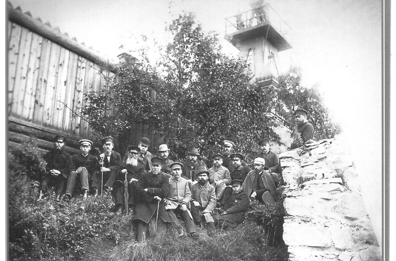 Служащие Добрянского завода 1892