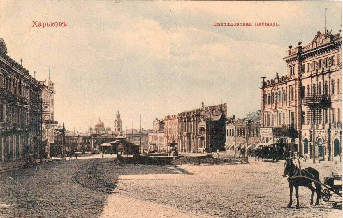 Николаевска¬я площадь