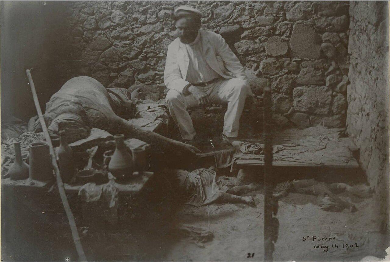 Сен-Пьер 14 мая 1902