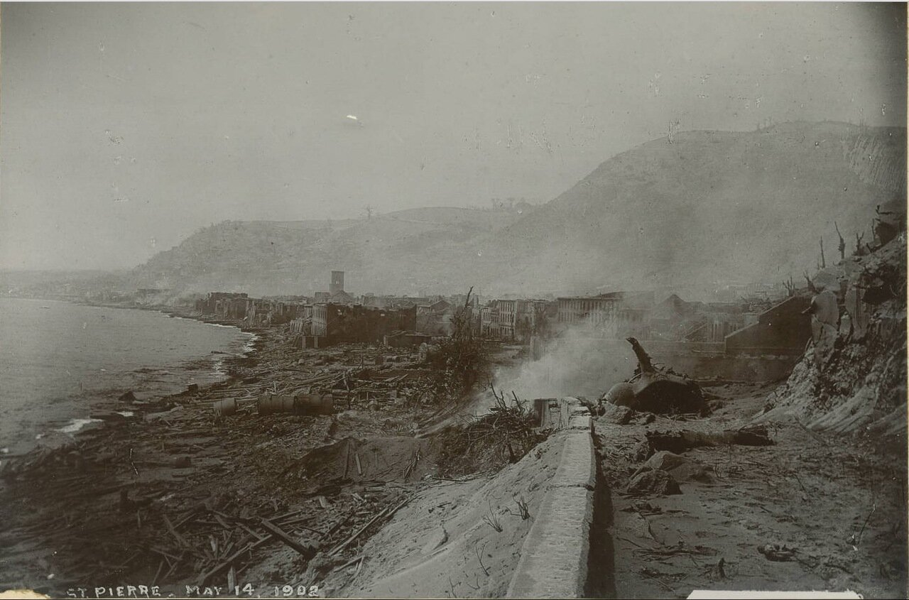Сен-Пьер, 14 мая 1902