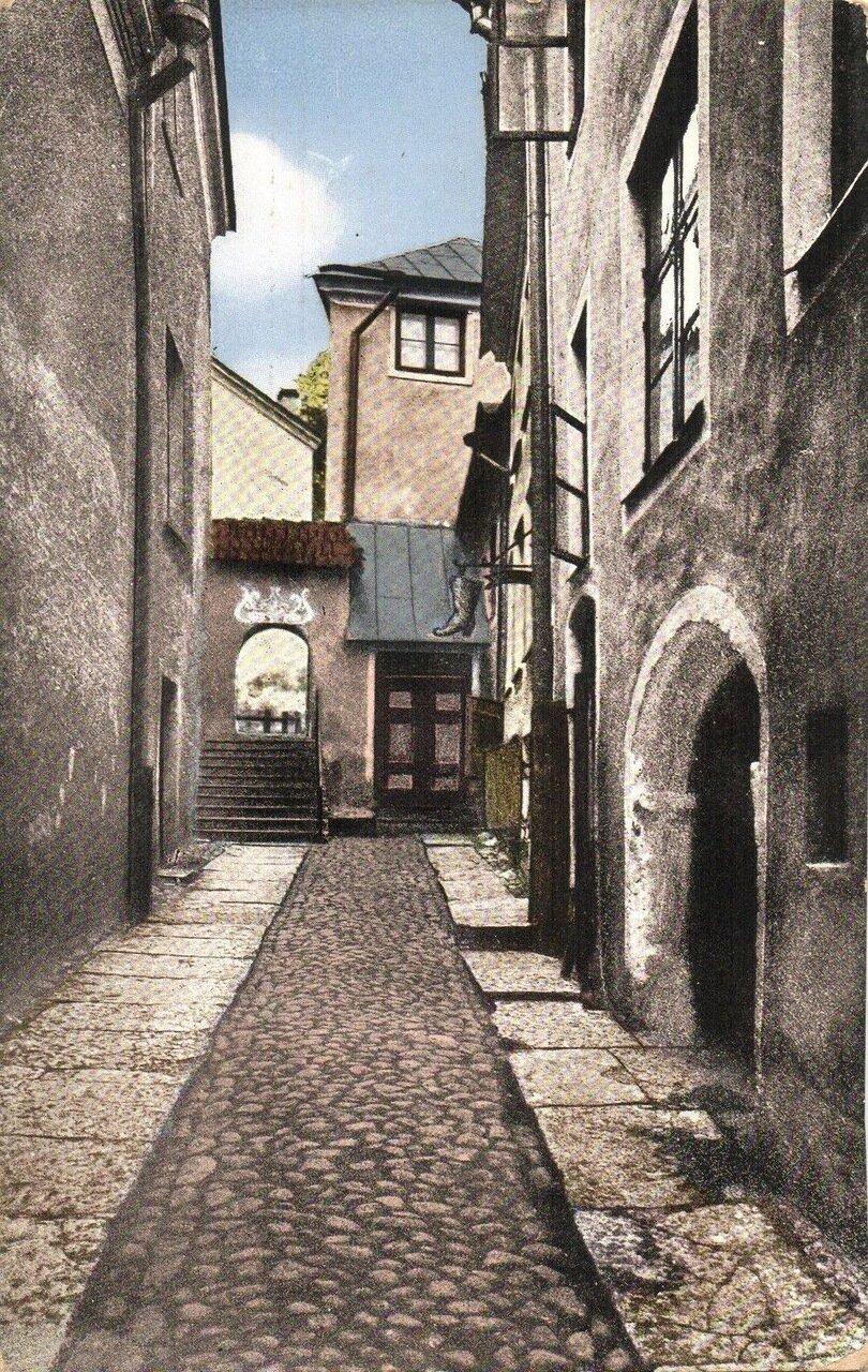 Липовый переулок