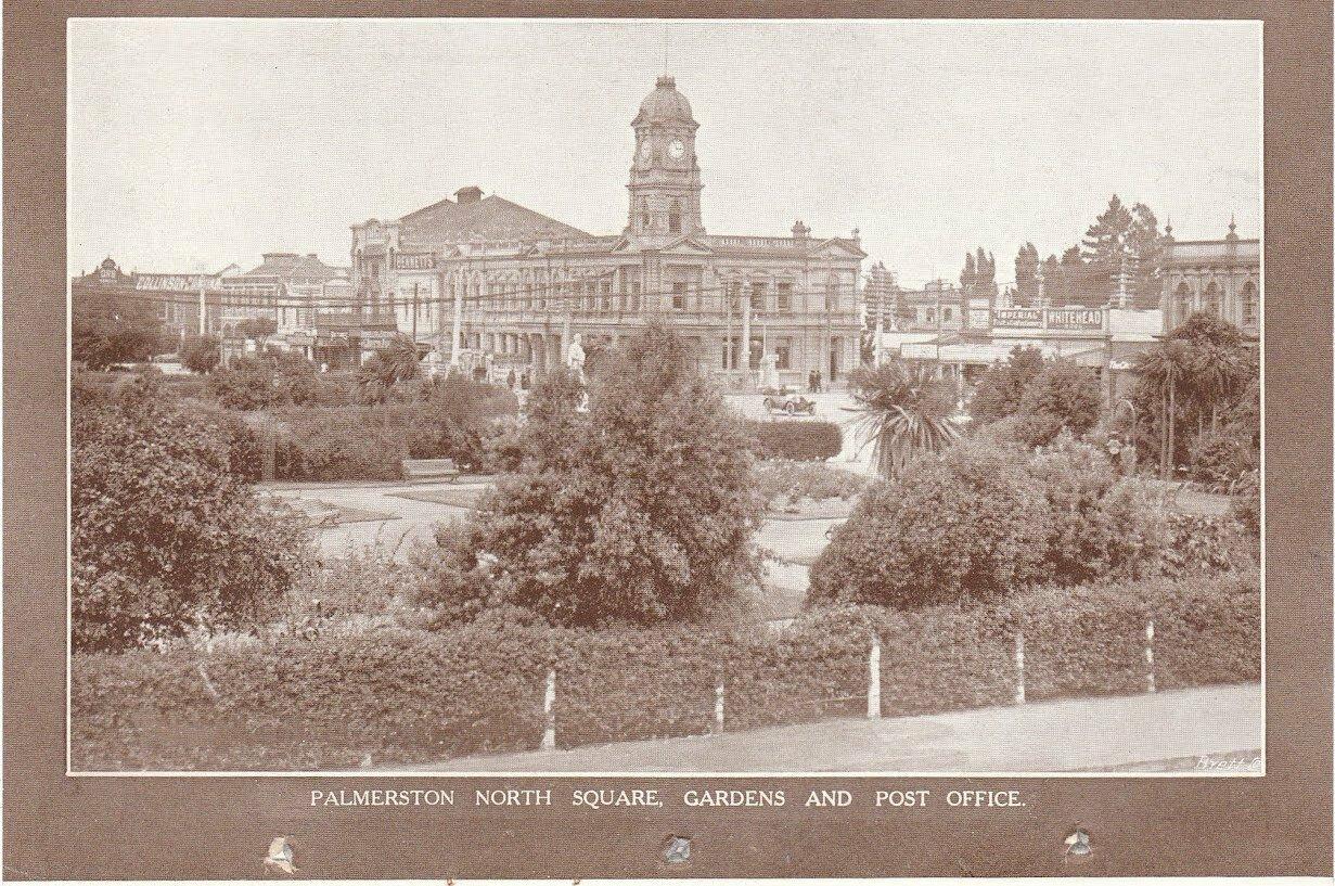 Палмерстон. Северная площадь, парк и почта