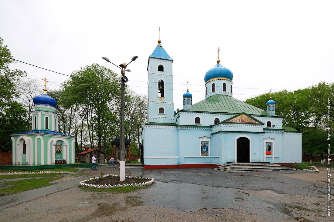 Ейск Часовня Блаженной старицы Матроны Московской и Собор Михаила Архангела