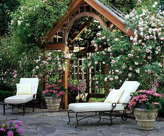 Садовые дворики. Ландшафтный дизайн  - фото 27